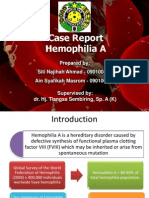 Case Report hemophilia a