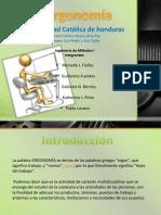 ergonomia laboral
