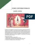 Las Relaciones Internacionales 1870-1914