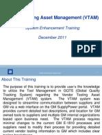 Tool Mgmt - VTAM Training_V3