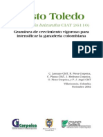 BraChiAria Brizantha Cv Toledo 3