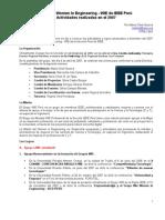 INFORME DEL GRUPO WIE PERU 2007-1