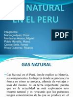 Gas Natural en El Peru