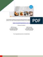 hallde food processor rg50 sales brochure_c