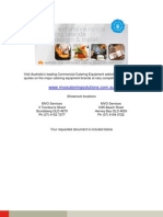 hallde food processor rg100 sales brochure_c