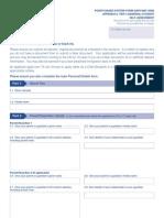 Tier4 GS-Self Assessment Form