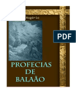 As Profecias de Balaão