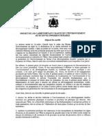 Projet Loi 99-12 Fr 2