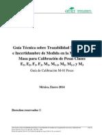 GUIA EMA Calibracion Pesas - Enero 2014