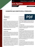 Articulo No3 Elementos Que Constituyen La Tribologia