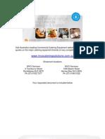 hobart mixer a200 sales brochure_c