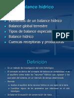 3.Balance Hidrico