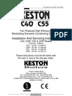 Keston C40 C55 Manual