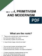 Myth, Primitivism and Modernism