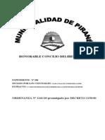 Codigo Bromatologia e Higiene Pirané