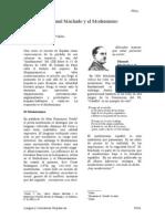 Manuel Machado y El Modernismo