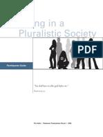 Pluralistic Society