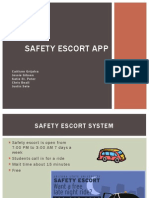 safety escort app--cis