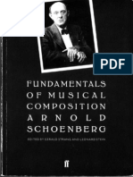Arnold Schoenberg - Fundamentals of Music Composition