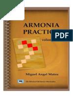 Armonia Practica Vol 1 Miguel Angel Mateu
