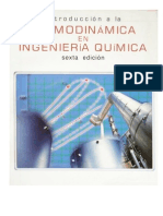Introduccion a La Termodinamica en Ingenieria Quimica - Smith, Van Ness - 6 Ed.