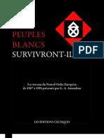 Amaudruz - Les Peuples Blancs Survivront-ils