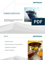 Intsok Deep Water Technology Seminar in Spanish