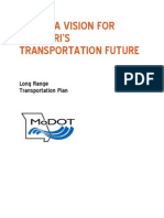 MoDOT - Missouri on the Move, Final Draft Full Tech Report 11-5-13