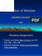 Clausewitz and Jomini