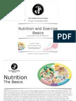 Nutritie si exercitii