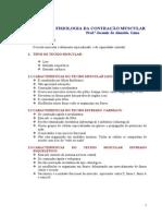 FISIOLOGIA DA CONTRAÇÃO MUSCULAR  3 IMPRESSO