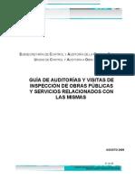 Guia de Auditoria y Visitas Obras Publ 02 Sep 2009