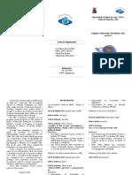 Folder Colóquio Conhecendo e Discutindo EAD na UECE