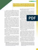 1. O Papel do MaroZEE frente aos desafios da sustentabilidade da Amazônia