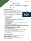 Chapitre 1 Les Circuits de Transport de Liquide