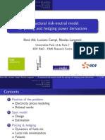 Risk Neutralmodeltohedgingandpricinpowerderivatives Seminar