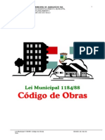Usodosolo Lei Municipal 1184 88 Codigo Obras