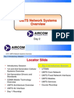 UMTS Network Systems Overview Day 2