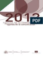 Agenda de La Comunicacion 2013