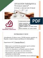Presentación en 7ª Reunión de Invierno. Alicante, 2013