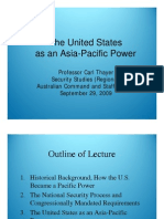 Thayer The U.S. as an Asia Pacific Power