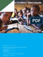 El Estado Mundial De La Infancia De 2014 En Cifras - Todos Los Niños Y Niñas Cuentan