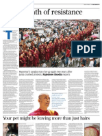Saffron Revolution-Burma Monks
