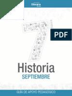 Historia_7b Septiembre Guia
