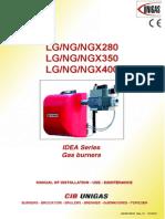 Cib Unigas LG NG NGX 280 350 400 Manual