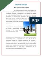 Historia de Hidalgo
