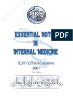 MKS Essential Notes in Internal Medicine - 1st Ed