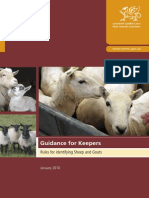 Rules for Identifying Sheep and Goats