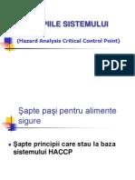 Curs 5 - Principii HACCP