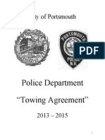 Portsmouth Towing Contract 2013-2015